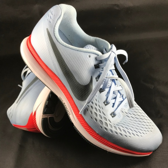 Excellent NIKE AIR ZOOM Pegasus + 34 Ice Blue /Fox